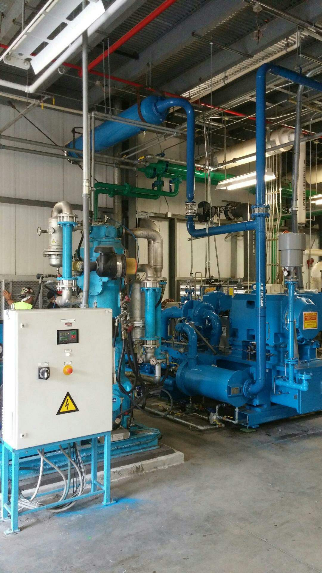 Installation Mechanical Services Rwi Industrial